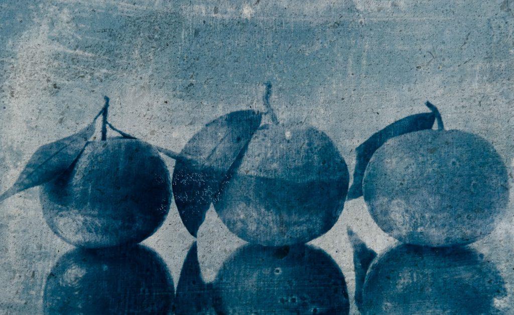 Peter Mrhar Cyanotype